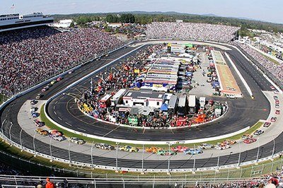 Chase for the Nextel Cup standings begins - first step Martinsville Speedway