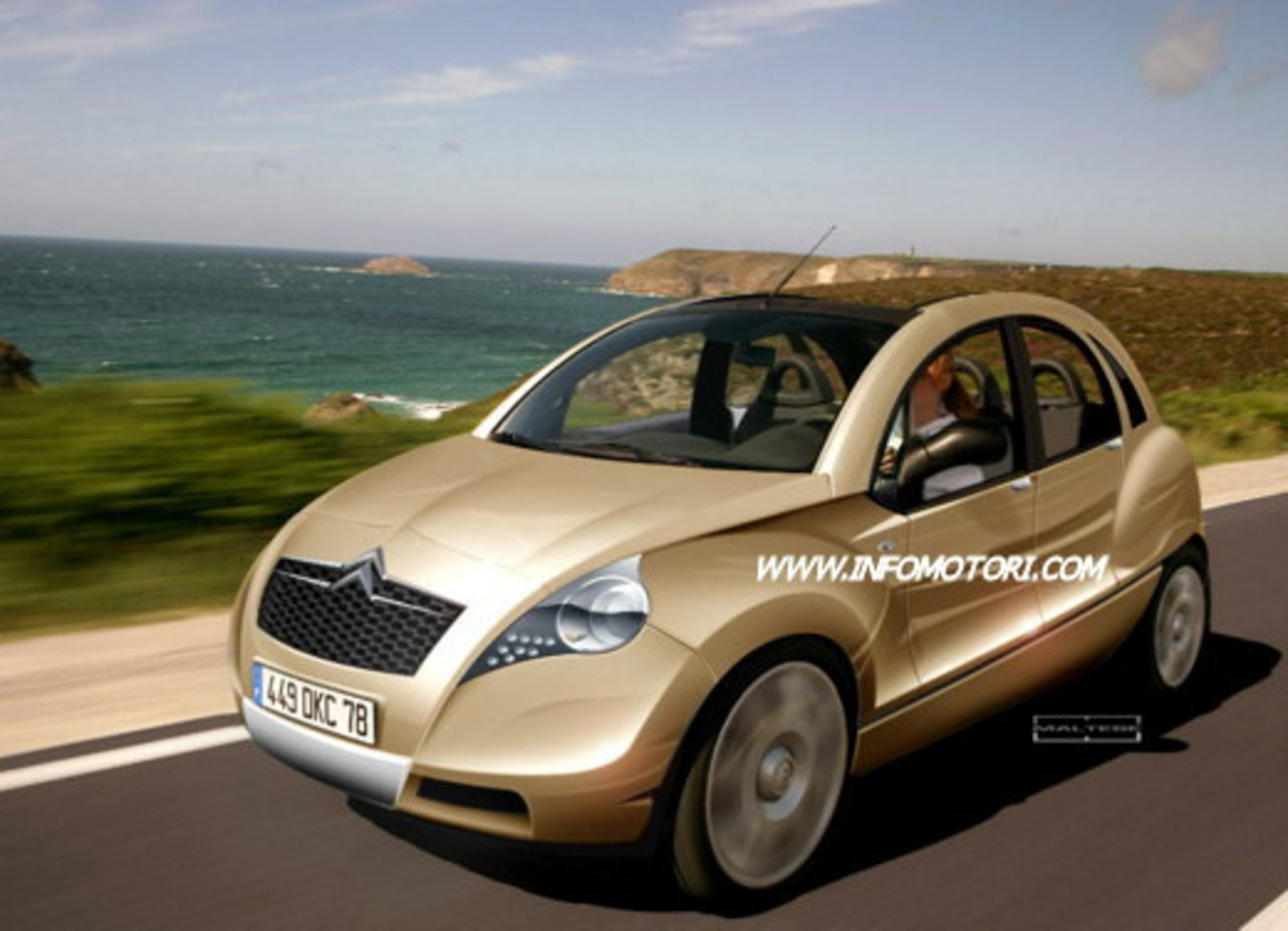citroen 2 cv renderings news