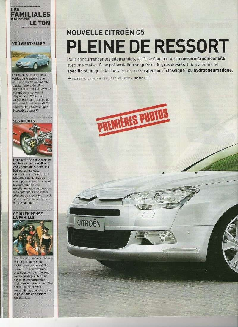 Citroen C5 - brochure leacked
