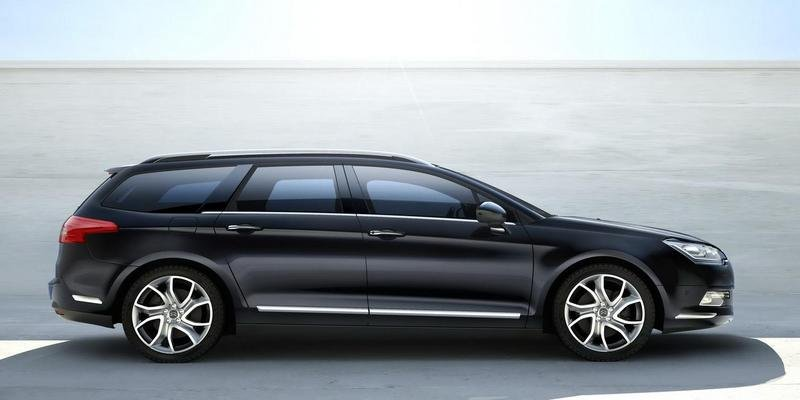 Citroen C5 II - official images