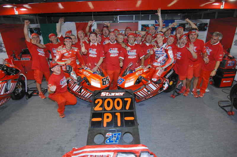 Ducati Party: celebrate with the world champions!