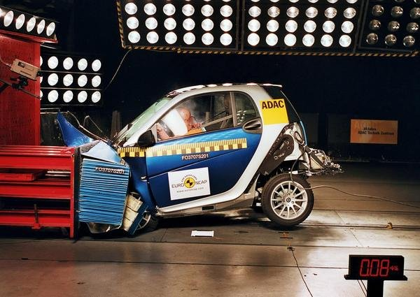four euroncap stars for smart fortwo picture