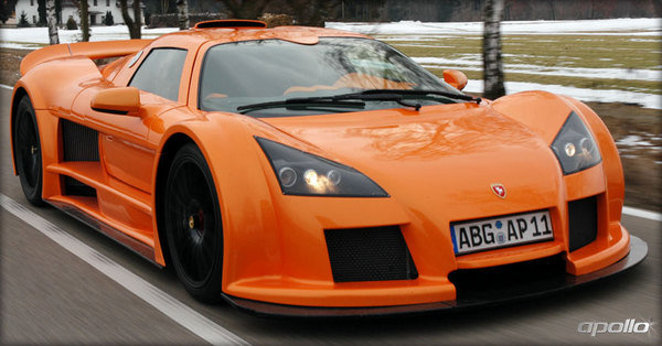 gumpert test drive track event picture