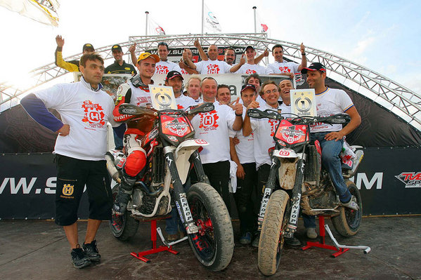 husqvarna is three times supermoto world champion in 2007 picture