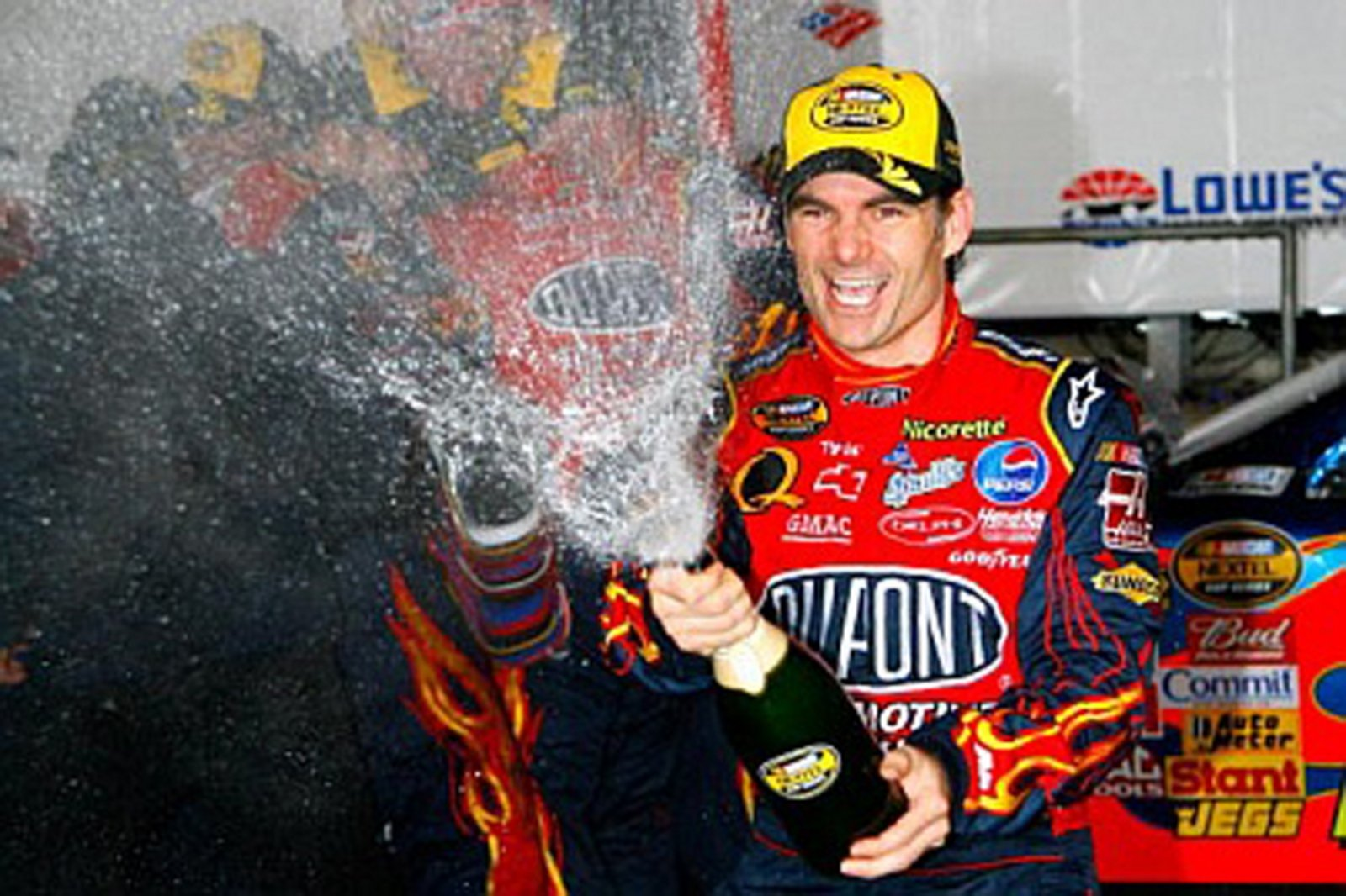 Kyle Busch Motorsports >> Jeff Gordon Is One Step Closer To The Fifth Nextel Cup ...