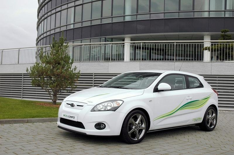 "Kia ""eco"" cee'd production version planned from December 2008"