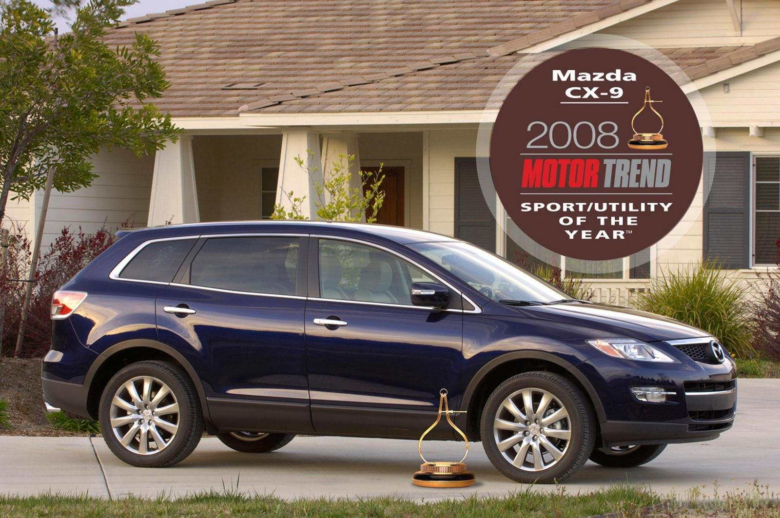 mazda cx 9 motor trend 39 sport utility of the year 39 top speed. Black Bedroom Furniture Sets. Home Design Ideas