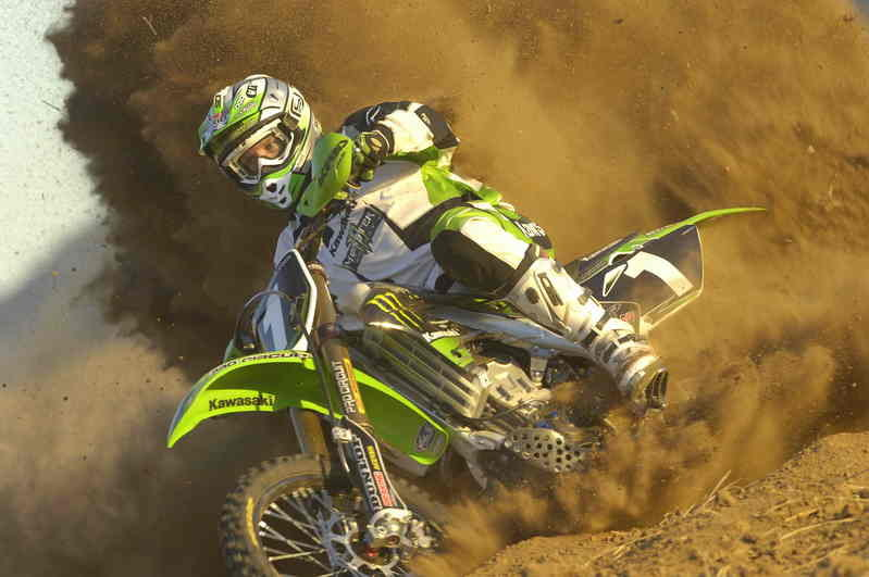 Monster Energy Kawasaki's Abbott rounds out Hare and Hound season in second