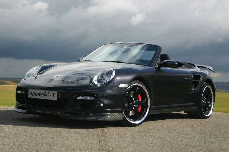 Porsche 997 Cabrio by SpeedArt