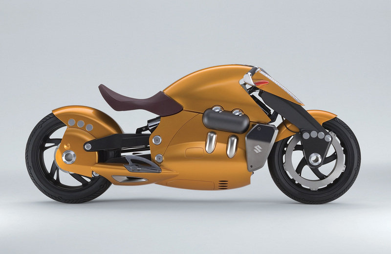 Suzuki Crosscage and Biplane, two motorcycle concepts at the Tokyo Motor Show