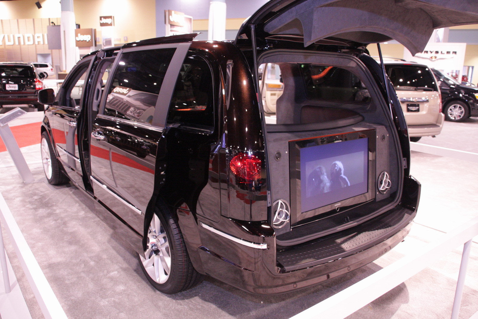 2008 chrysler town and country black jack picture 212264 car review top speed. Black Bedroom Furniture Sets. Home Design Ideas