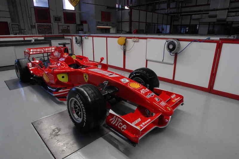 2008 Ferrari car will debut in January