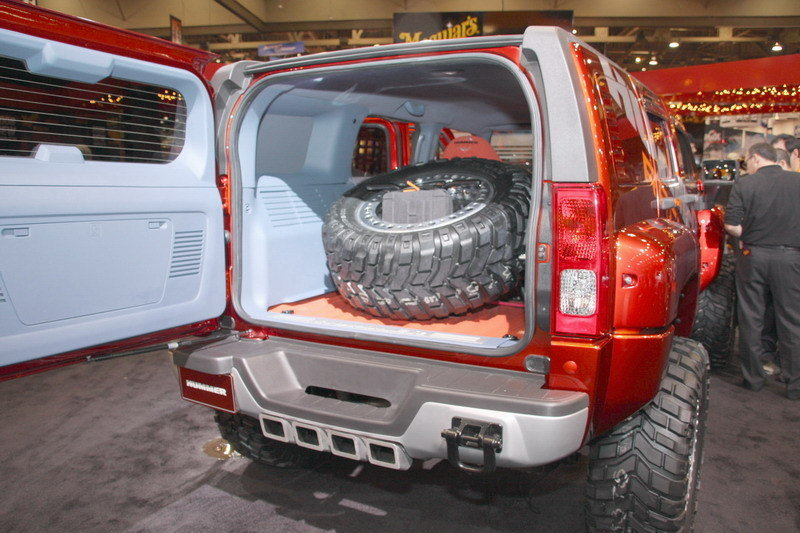 Cargo Area Spare Tire Mount For H3 Hummer Forums Enthusiast Forum For Hummer Owners