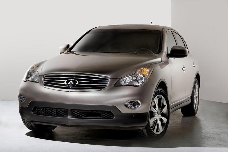 2008 Infiniti EX35 pricing announced