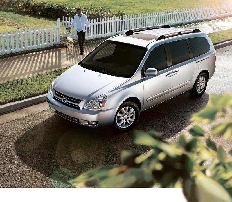 2008 Kia Sedona awarded 'Top Safety Pick'