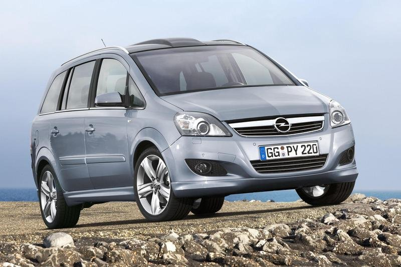 opel zafira news and reviews top speed. Black Bedroom Furniture Sets. Home Design Ideas