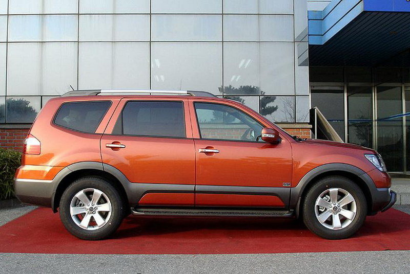 2009 Kia Borego - first images