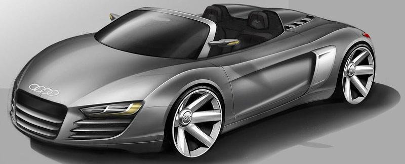 Audi R8 Based Concept And TTS To Be Unveiled In Detroit