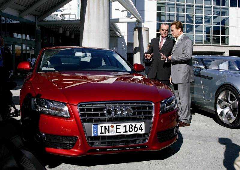 Audi working on cutting CO2 emission
