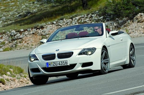 bmw m6 coupe and convertible pricing picture