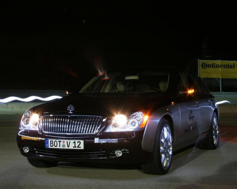 Brabus Maybach 57S hits 330,6 km/h at Nardo
