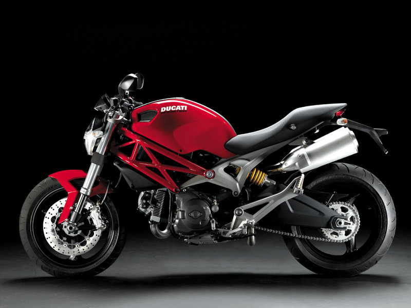 Ducati Monster 696: first North American appearance