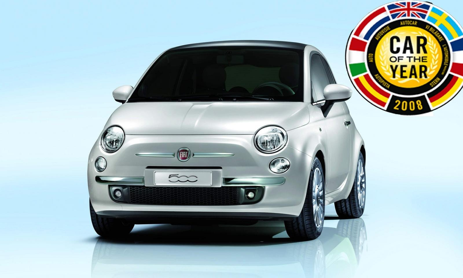 fiat 500 2008 european car of the year news gallery top speed. Black Bedroom Furniture Sets. Home Design Ideas