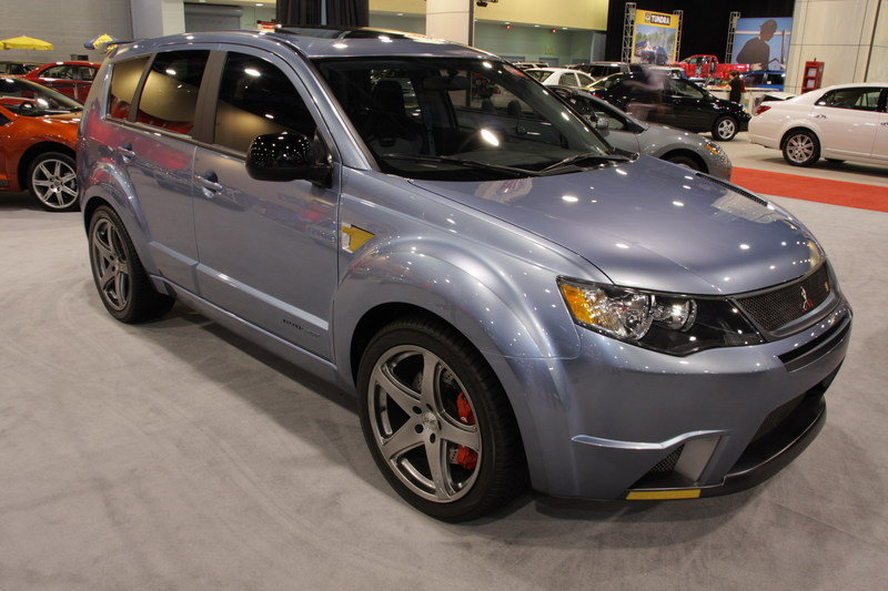 2007 Mitsubishi Evolander by RalliArt