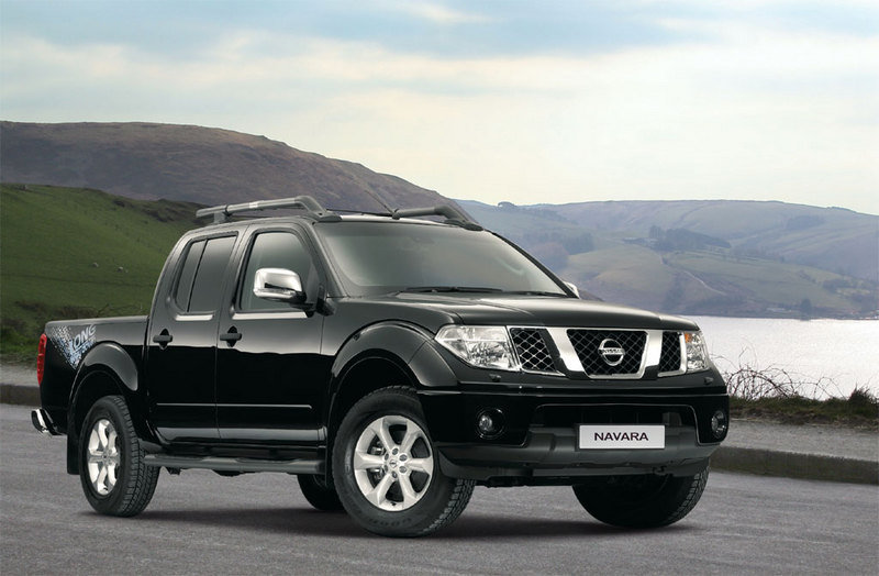 2007 Nissan Patrol and Navara Long Way Down Edition