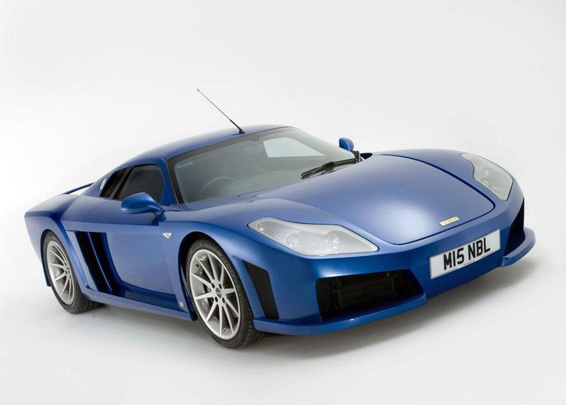 Noble M15 to be powered by 650 hp Volvo V8 engine?