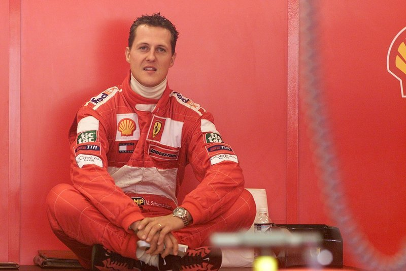 "Schumacher ""returns"" as a test driver for Ferrari"