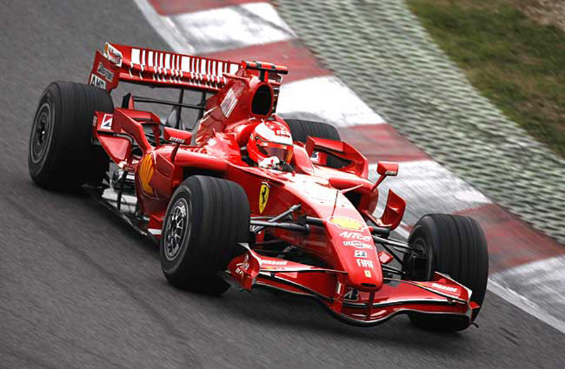 The 2008 Formula One season starts with Barcelona test