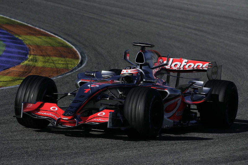 The 2008 McLaren car will be release in January