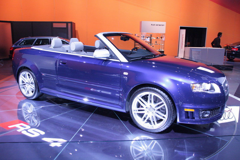 the Audi RS4 Convertible available in the US ?