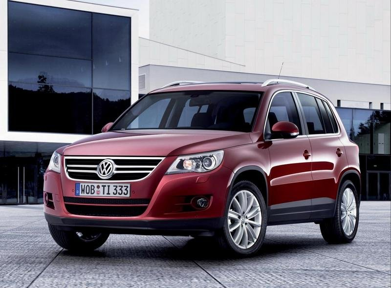 Volkswagen Tiguan available in USA starting summer 2008