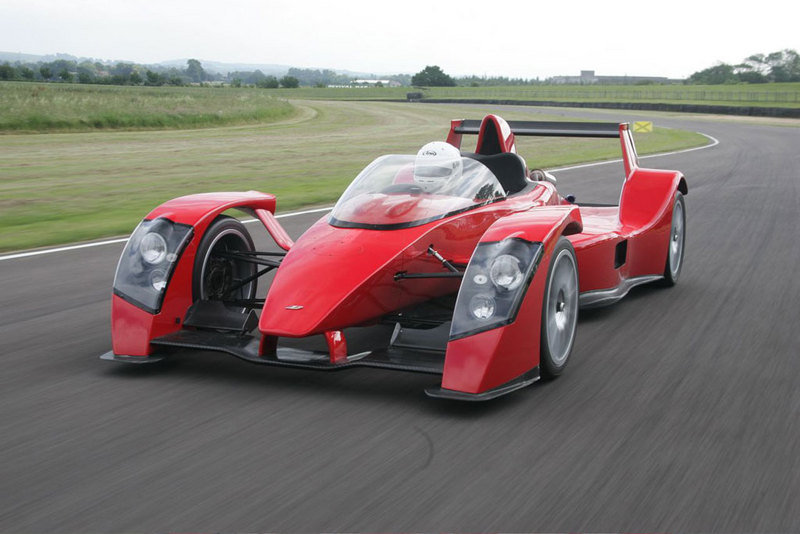 Caparo T1 offering race-bred safety
