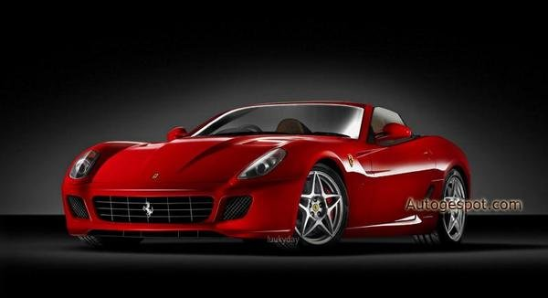 ferrari 599 spider to arrive in 2009 picture