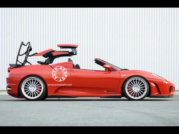 ferrari f430 gt california renderings picture