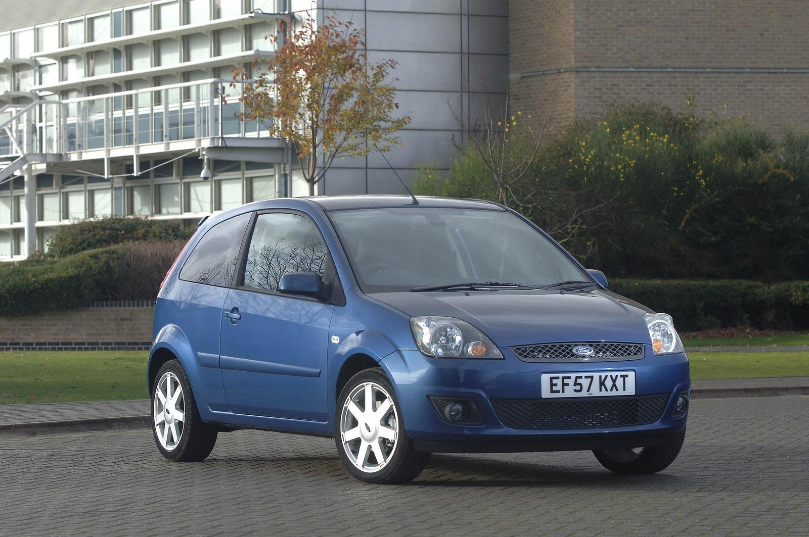 2007 Ford Fiesta Zetec Blue Pictures Photos Wallpapers
