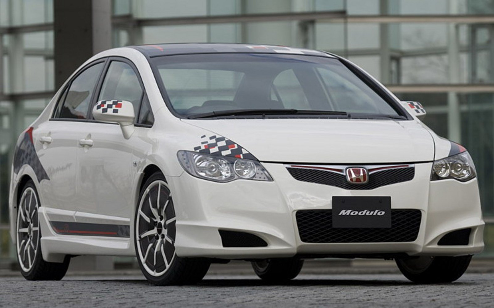 2008 honda civic type r modulo review top speed. Black Bedroom Furniture Sets. Home Design Ideas