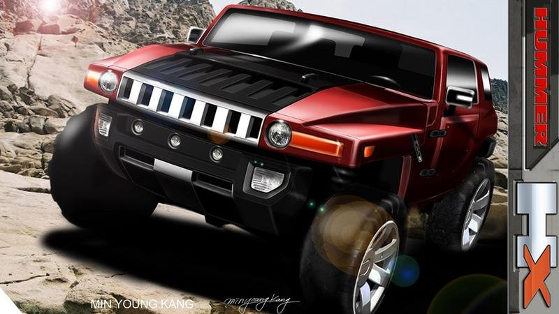 HUMMER HX concept to be unveiled at 2008 Detroit Auto Show