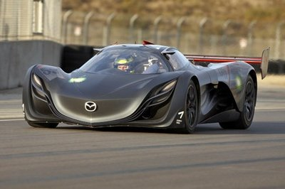 Mazda Furai Concept first images before Detroit debut