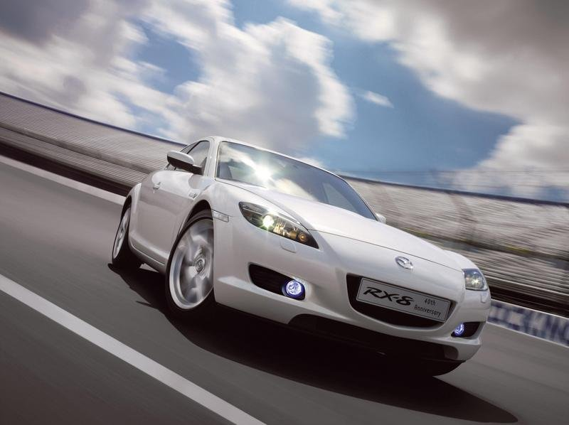 Mazda RX-8 40th Anniversary Limited Edition on sale in UK