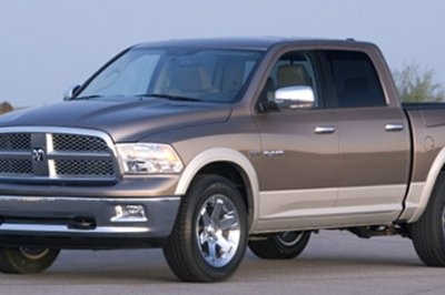 New 2008 Dodge RAM leak
