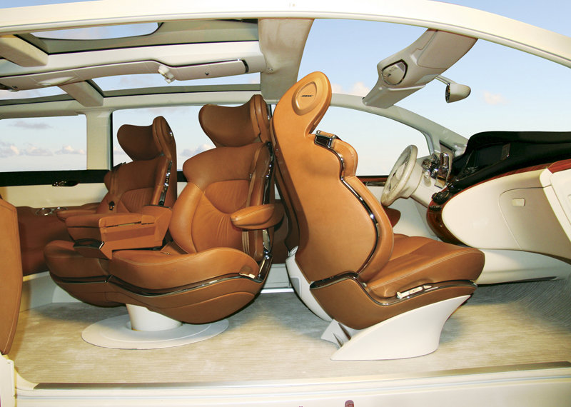 Nissan Forum Concept - seat illustration