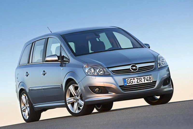 Opel Zafira pricing announced