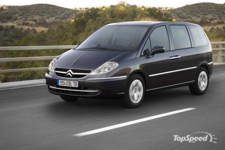 2008 Citroen C8 - Top Speed