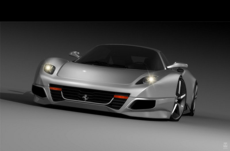 2008 Ferrari F250 Concept Design by Idries Omar