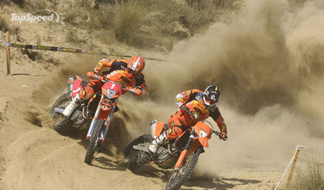 2008 KTM 530 EXC-R and 450 EXC-R
