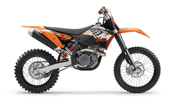 2008 ktm 450 xc-f review - top speed